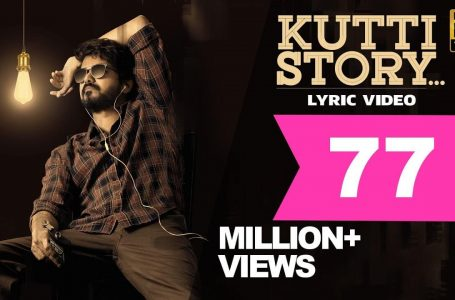 Kutti Story Lyrics Video – Master