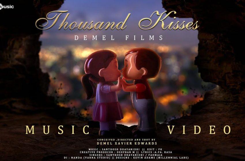 Thousand Kisses Song Lyrics – Santhosh Dhayanidhi