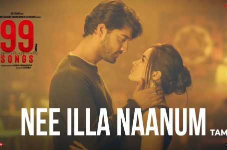 Nee Illa Naanum Song Lyrics – 99 Songs Movie